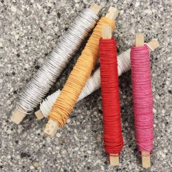 Paper Covered Iron Wire